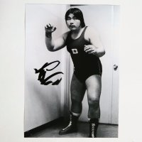 鶴見五郎氏【直筆サイン入り生写真(A4)】D