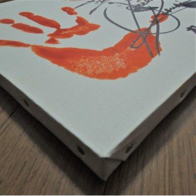 画像4: ★かぶき祭りグッズ★ザ・グレート・カブキ&高千穂【手形&サイン入りキャンバス】