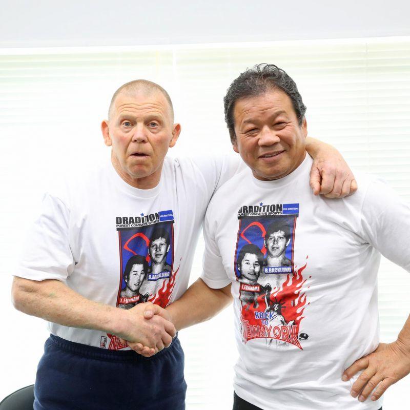 藤波&バックランド【龍王トークイベント】大盛況!